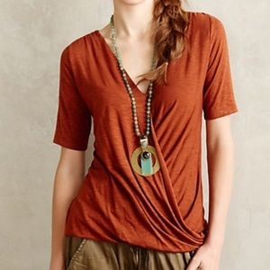 Anthropologie | Dolan Left Coast Wrap Tee